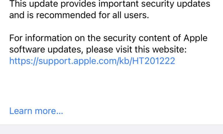 Как сохранить iPhone на iOS 14