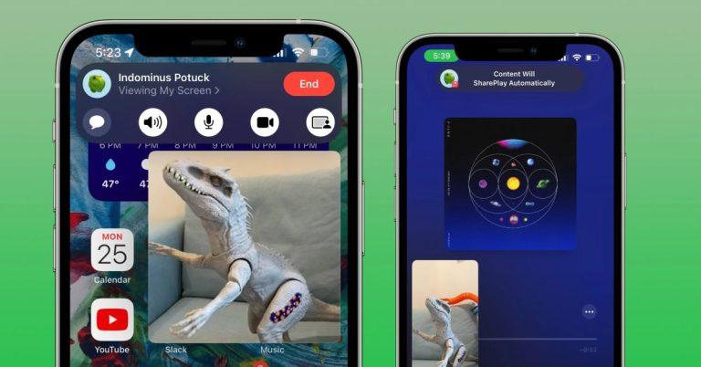 Как использовать SharePlay на iPhone и iPad