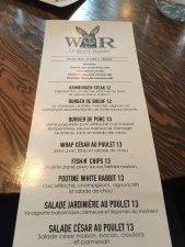 White Rabbit eatery in St-Hyacinthe, Quebec