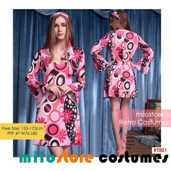 RT001 Retro Costumes - Rent Premium Ladies Retro Costumes