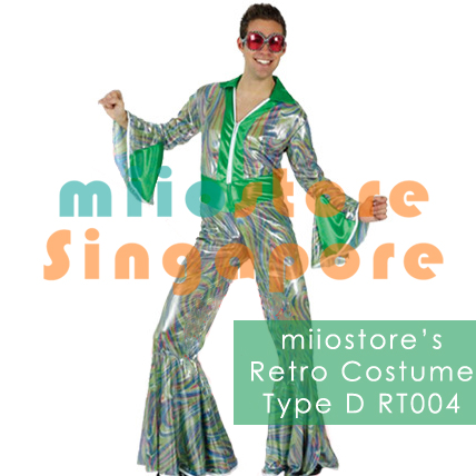 Rent Mens Green Retro Costumes Singapore PPAP Pen Pineapple Apple Pen