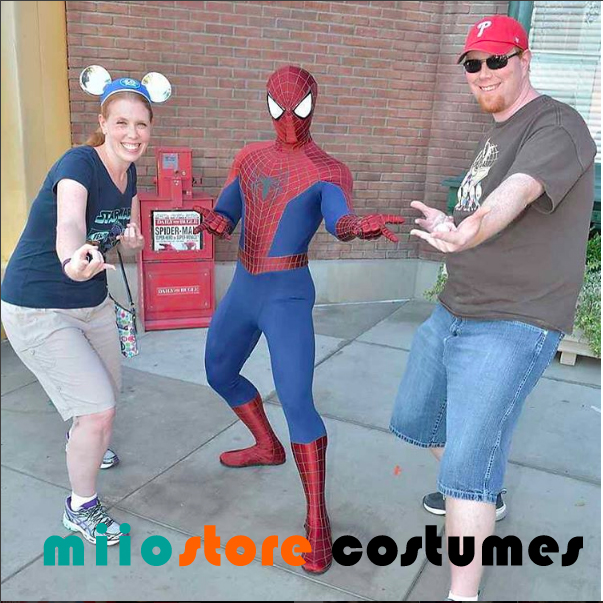 Spiderman Dress up Caucasian - miiostore Costumes Singapore