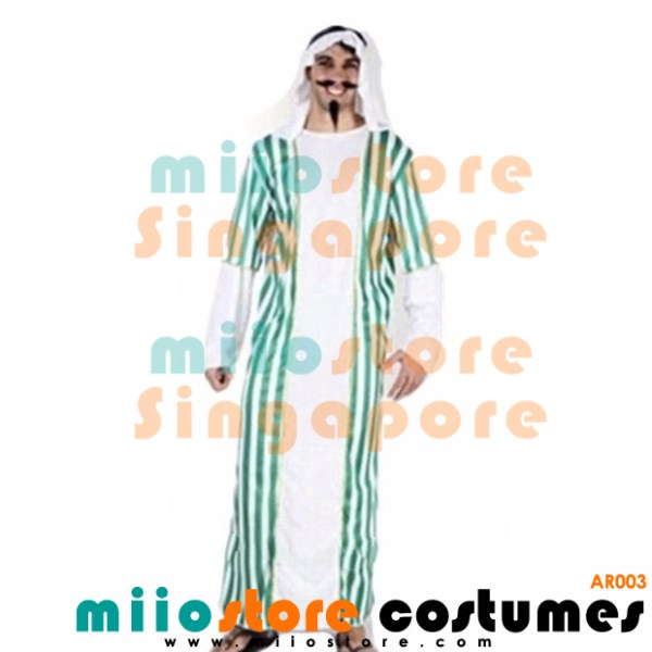 AR003 - Arab Costumes - miiostore Costumes Singapore