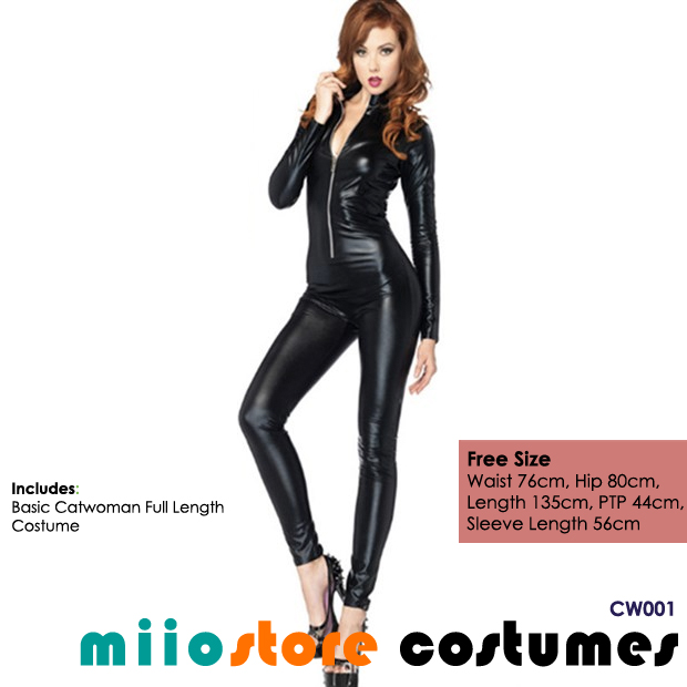 Catwoman Costumes - miiostore Costumes Singapore - CW001