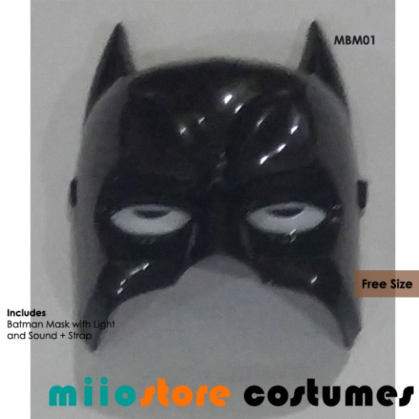 Batman Mask Accessories - miiostore Costumes Singapore MBM01