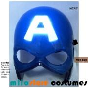 Captain America Mask Accessories - miiostore Costumes Singapore MCA01