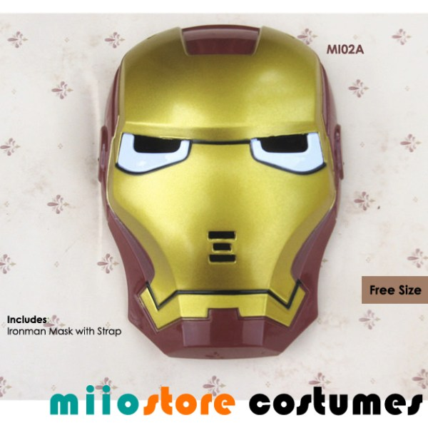 Ironman Mask Accessories - miiostore Costumes Singapore MI02A