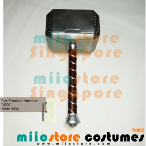 Thors Hammer Mjolnir Life Size - miiostore Costumes Singapore - TH002