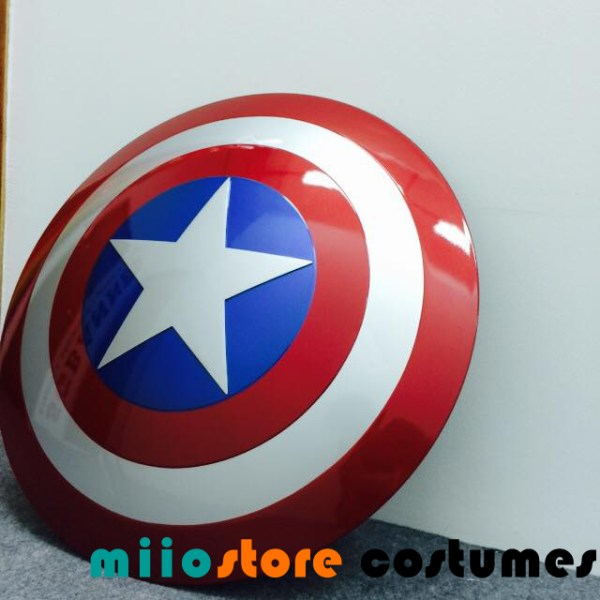 Captain America Marvel XL 47cm Shield Avengers - miiostore Costumes Singapore