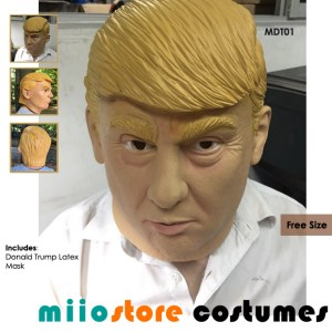 miiostore's Donald Trump Mask MDT01 Free Sized