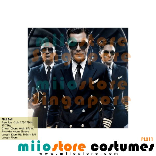 Pilot Suit Set - miiostore Costumes Singapore - P011