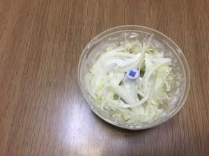玉ねぎスライス