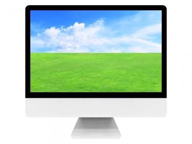 パソコンのデスクトップの語源は、英語の【desktop:卓上の】