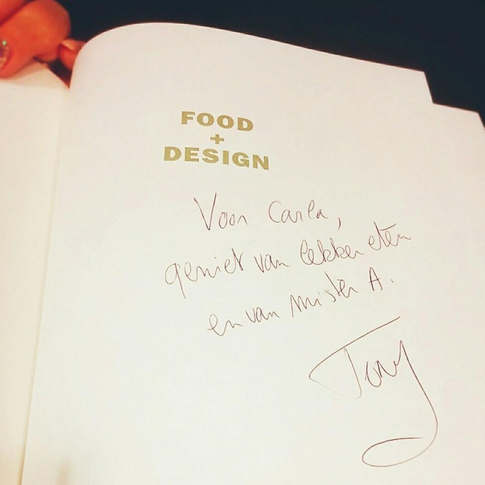 dankjewel, Tony Le Duc!