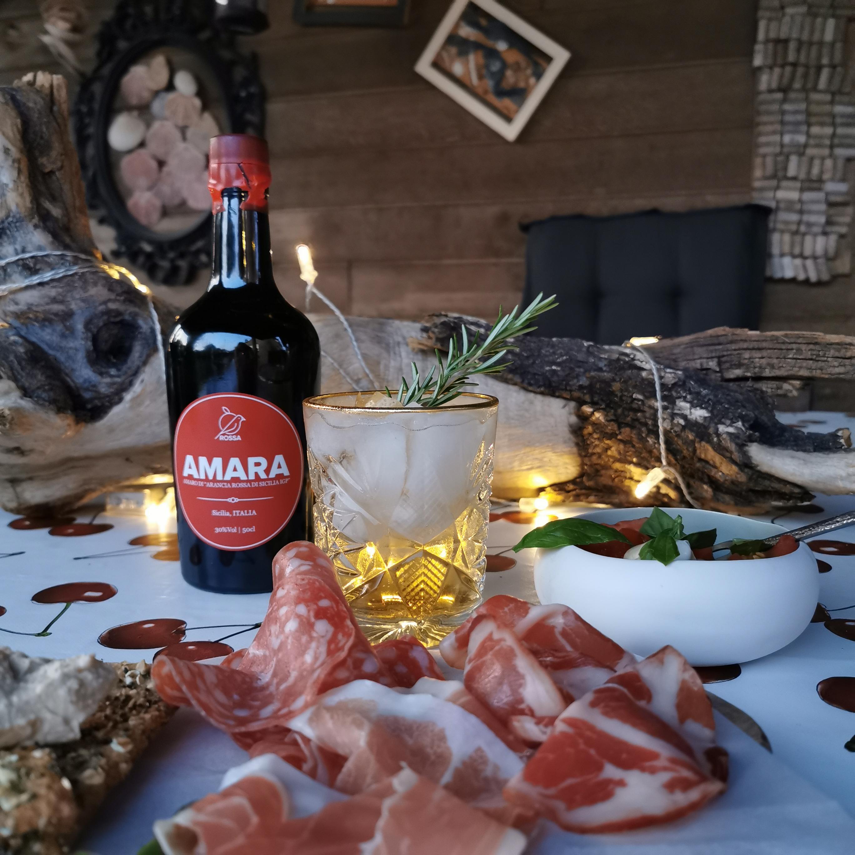 Sicilian summer met Amara