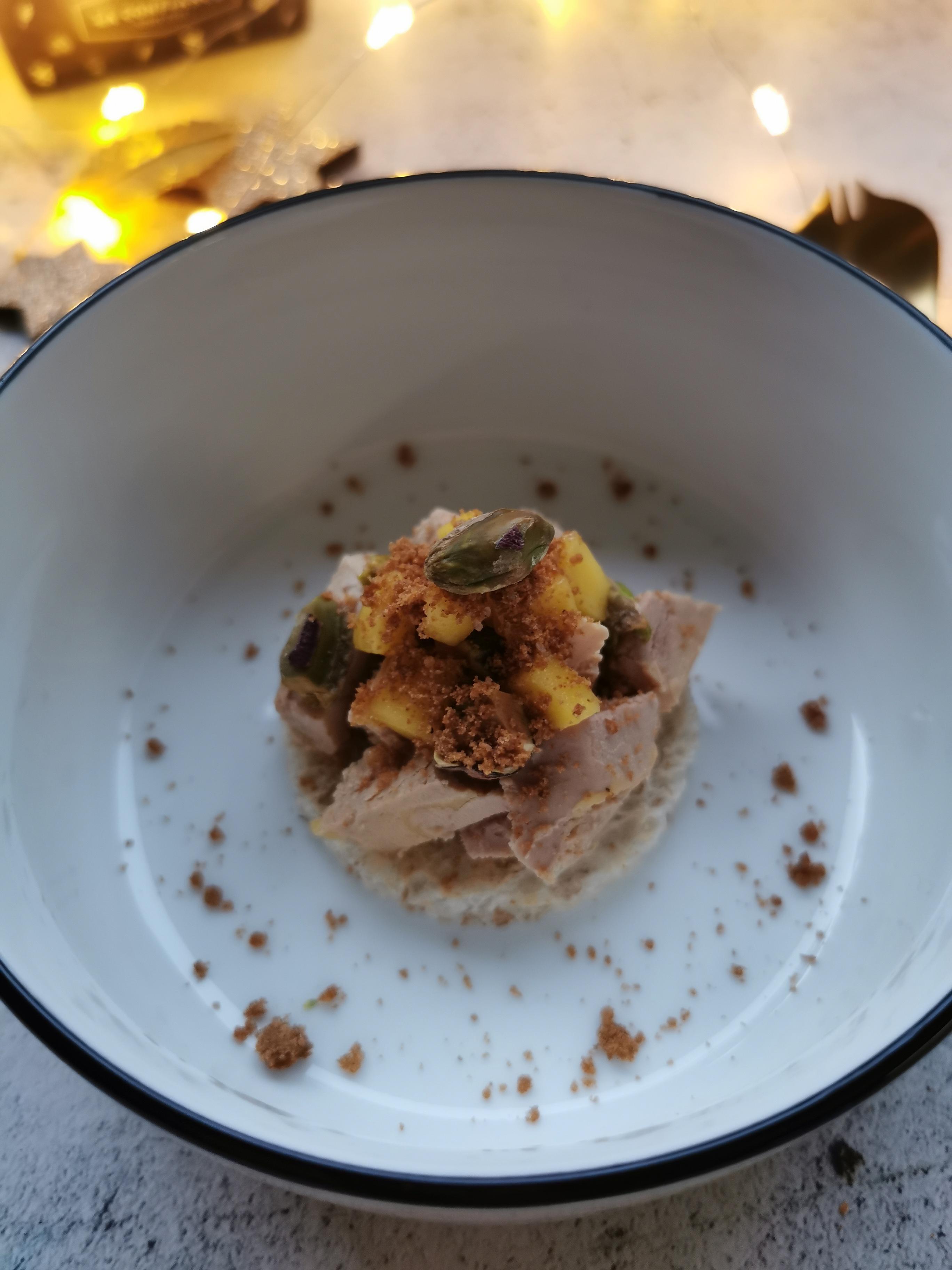 foie gras met pistache