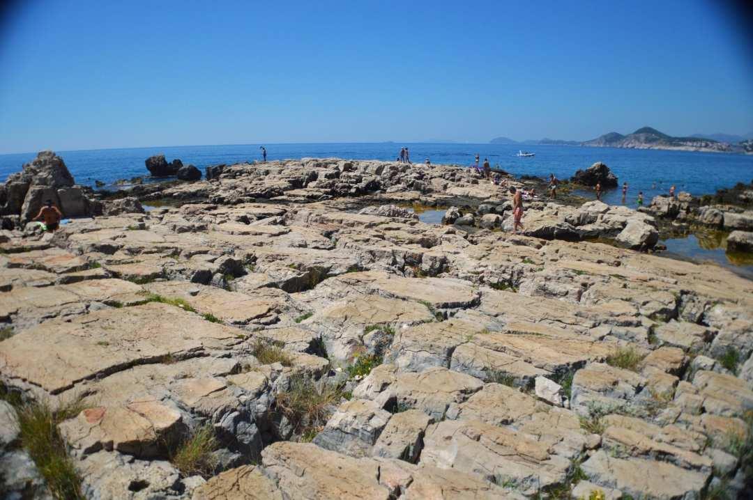 Lokrum eiland Kroatië