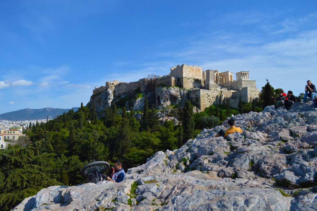 Beste Uitzichtpunten in athene op akropolis vanaf Areopagus Heuvel