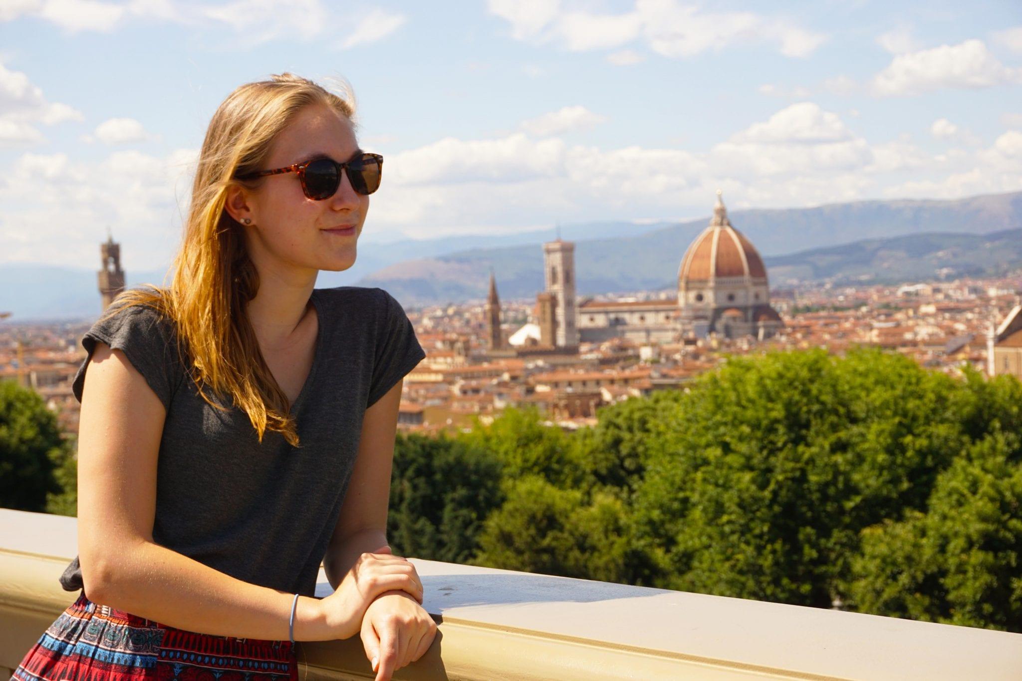 Stedentrip naar Toscane, uitzicht Florence