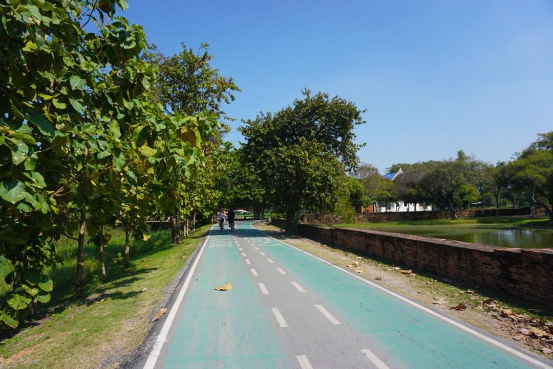 Fietsen Ayutthaya