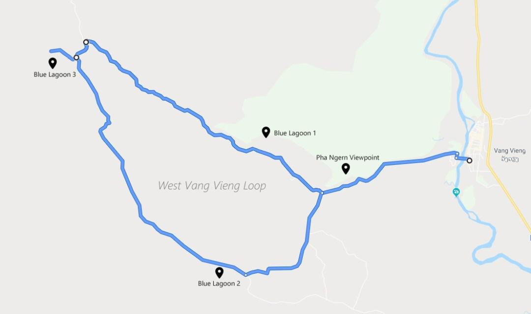 West Vang Vieng Loop