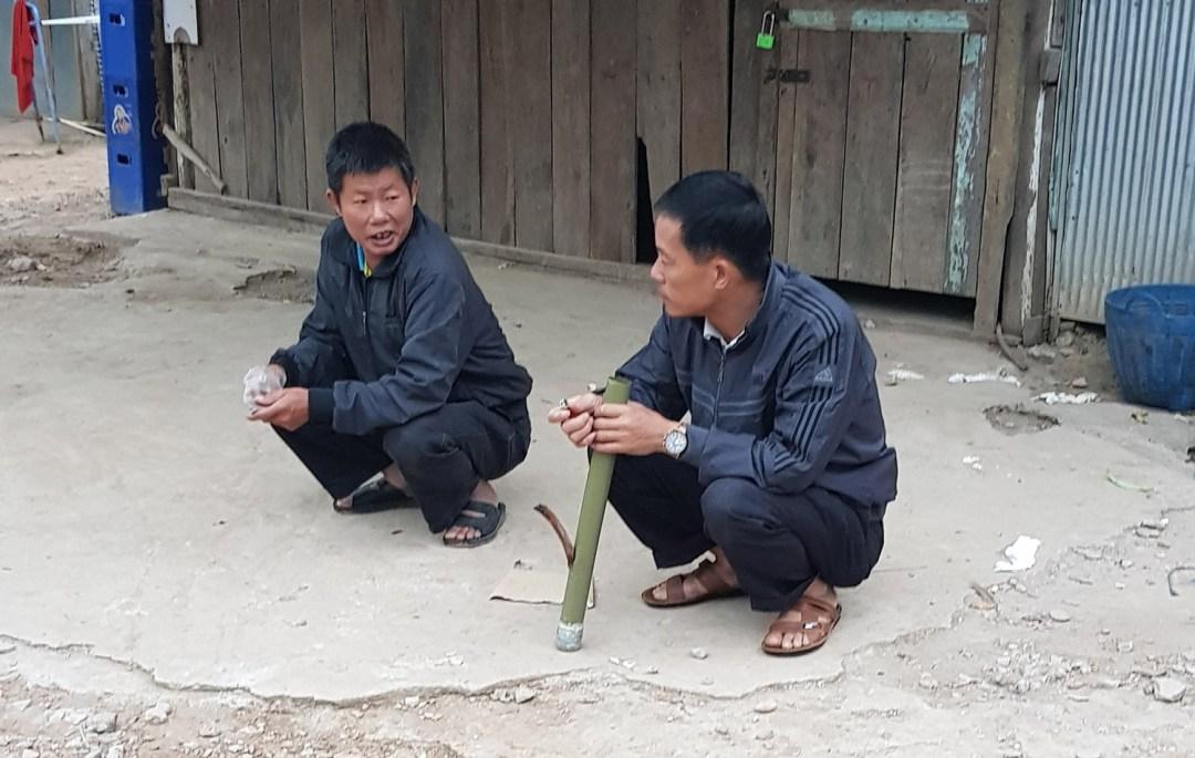 tabakspijp Laos