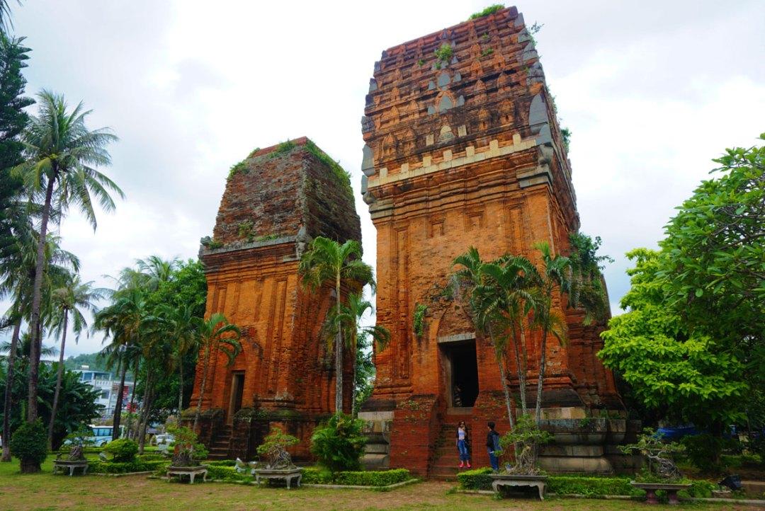 Cham tempels Quy Nhon