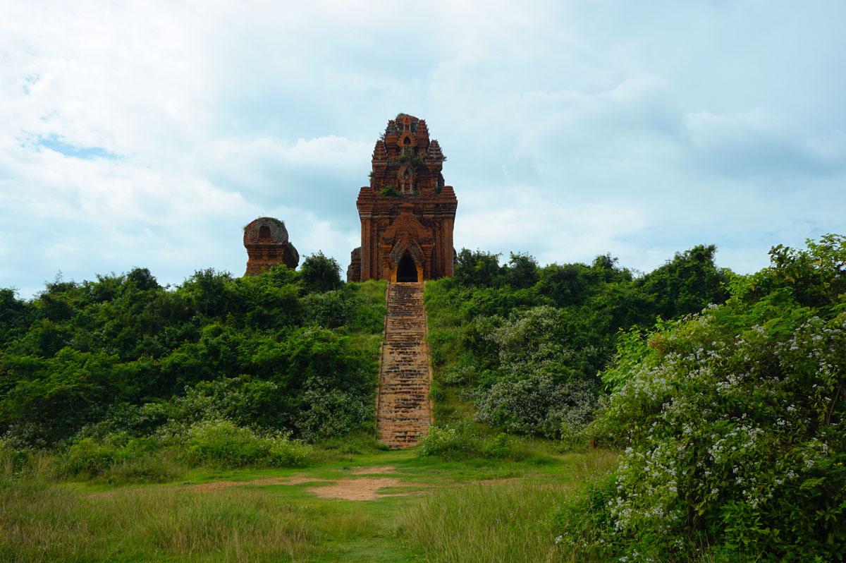 Bahn it cham tempels Quy Nhon