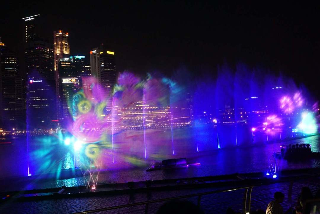 Spectra watershow