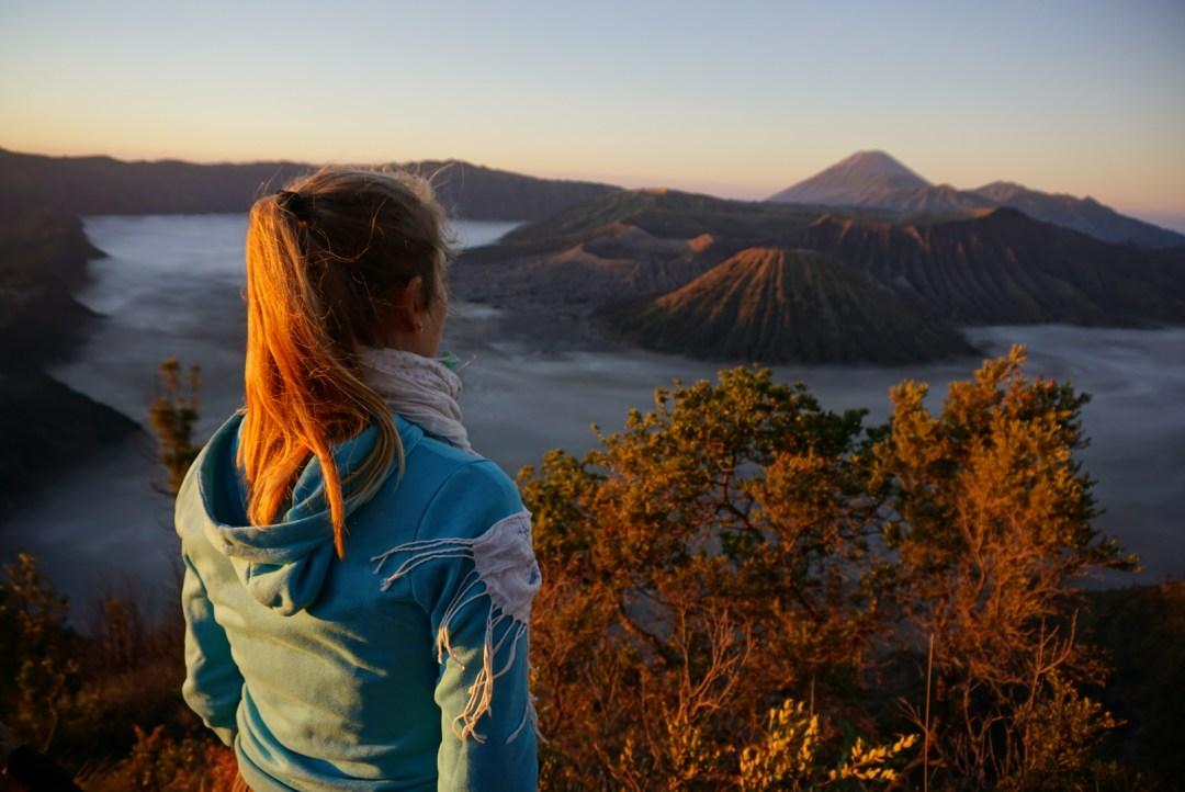 Bromo vulkaan viewpoint