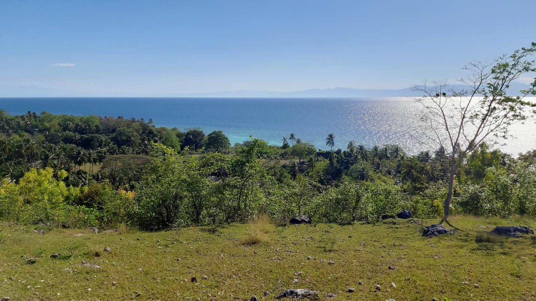 Filipijnen uitzicht op de zee