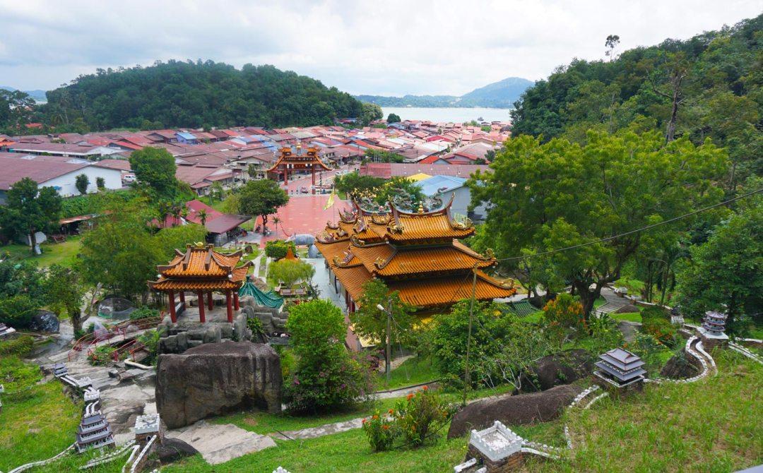 Tempel-Pulau-Pangkor-Maleisie