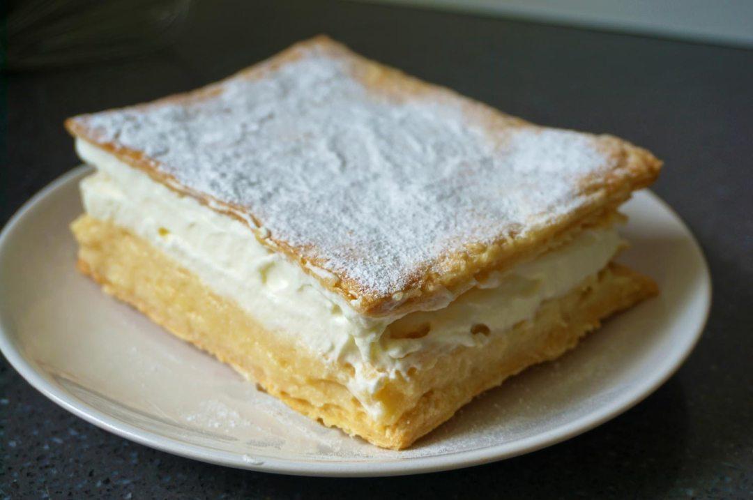 Kremsnita Sloveense recepten