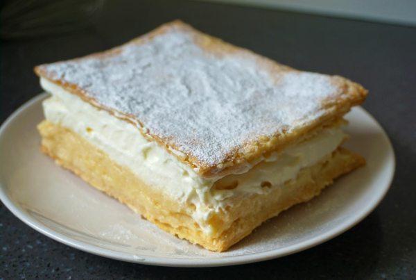 Kremšnita Sloveense recepten