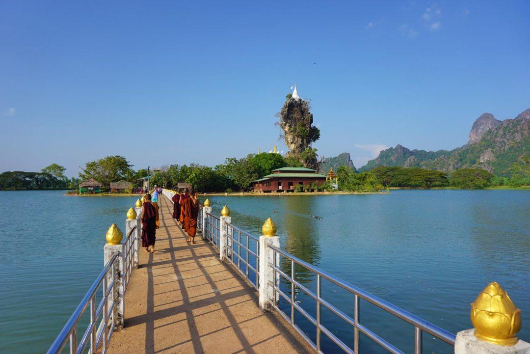 Kyaut-Ka-Latt-Pagoda-Hpa-An-Myanmar