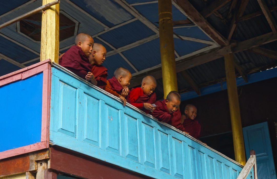 Monniken Myanmar