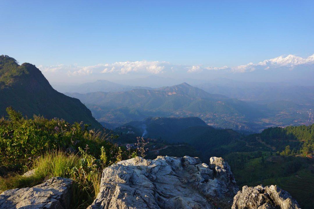 uitzicht Thani Mai Bandipur Nepal