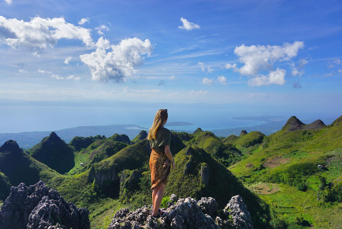 Osmena peak filipijnen