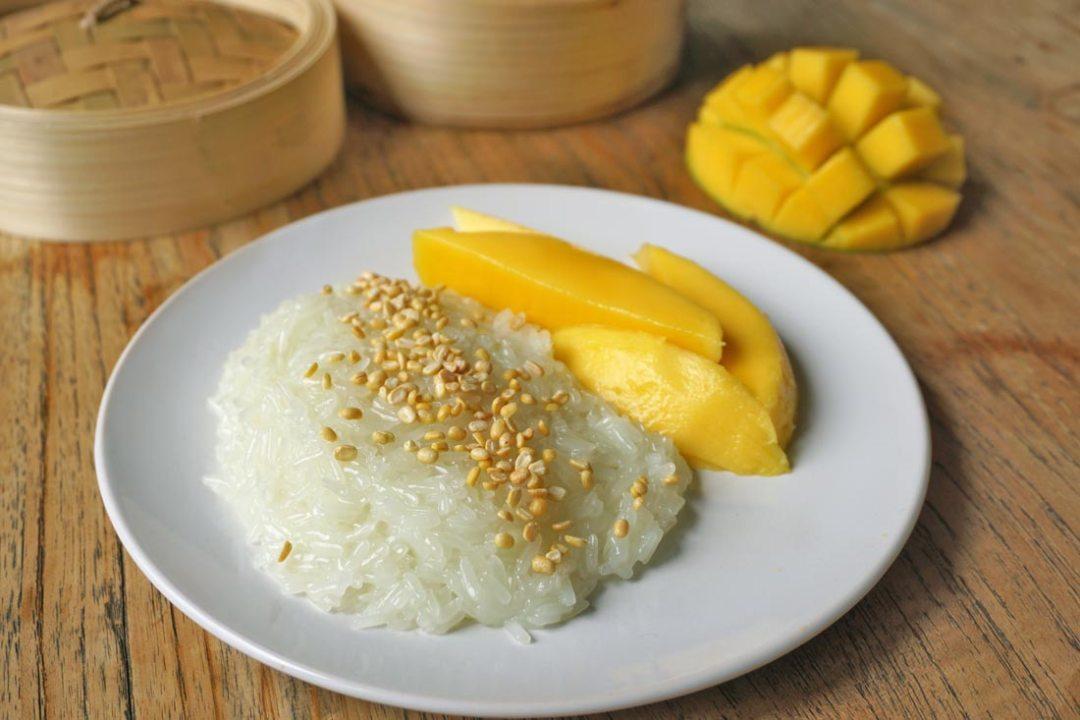 Mango-Sticky-Rice Thai