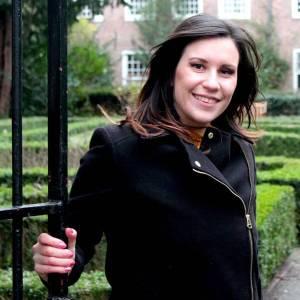 Tina Batistuta voor Mijn Slovenië