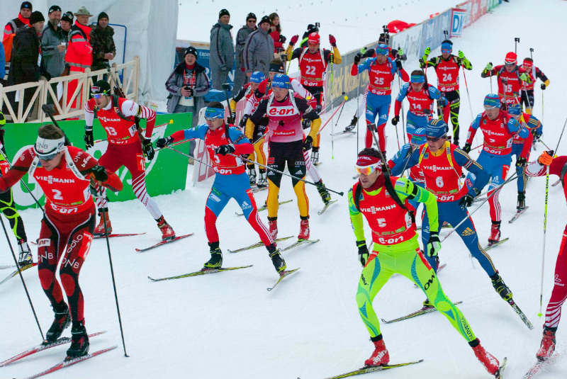 biathlon, pokljuka, mijn slovenie