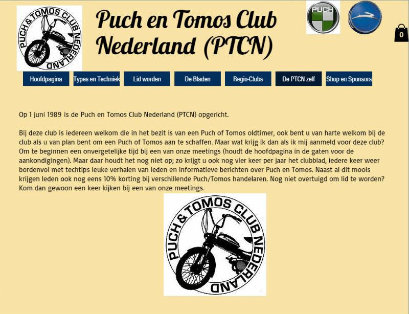 webpage, puck & tomos, club