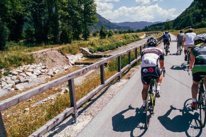 bohinj, fietsen, M. Koghee, mijnslovenie