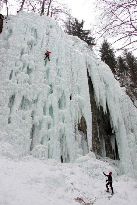 ice climbing, mojstrana, mijn slovenie