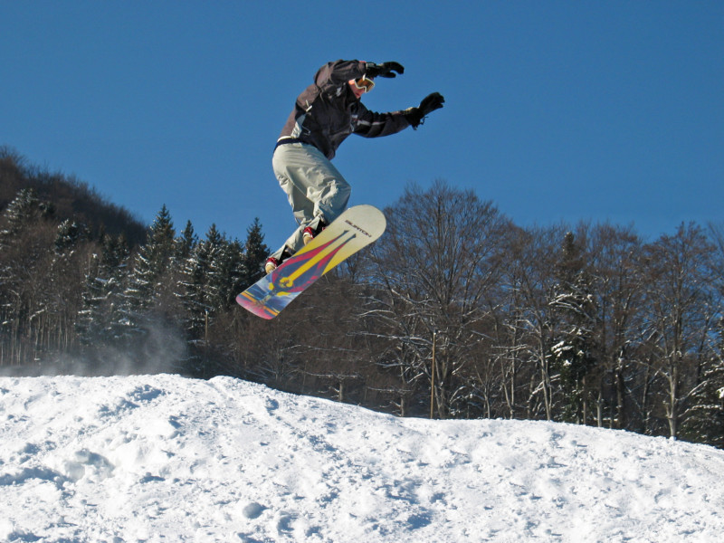 snowboarden, maribor-pohorje