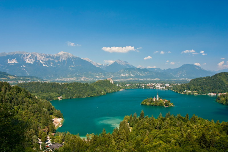 bled, slovenia trips