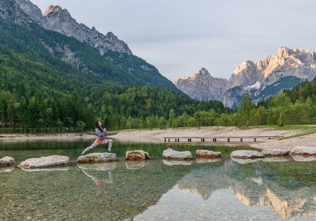 wellness vakantie Slovenie yoga
