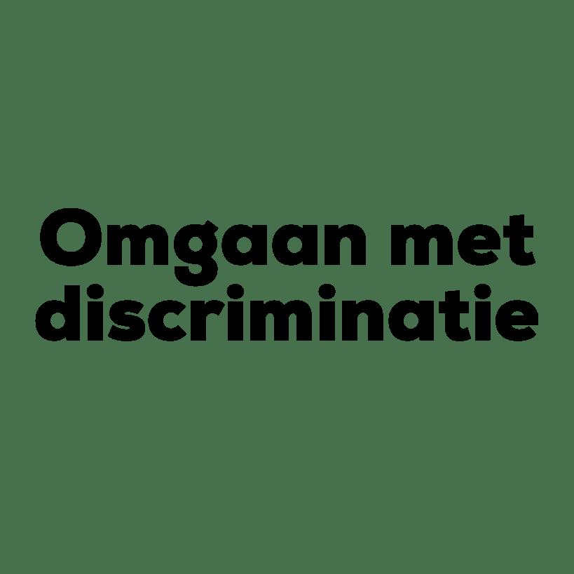 Training Omgaan met discriminatie op school