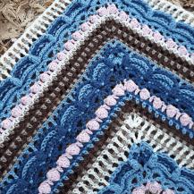 Lost in Time Shawl / Sjal ? Mijo Crochet