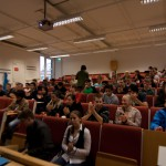 Nästan 70 personer gästade föreläsningen
